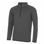 Kidsgrove Mens ½ zip sweatshirt - JC031